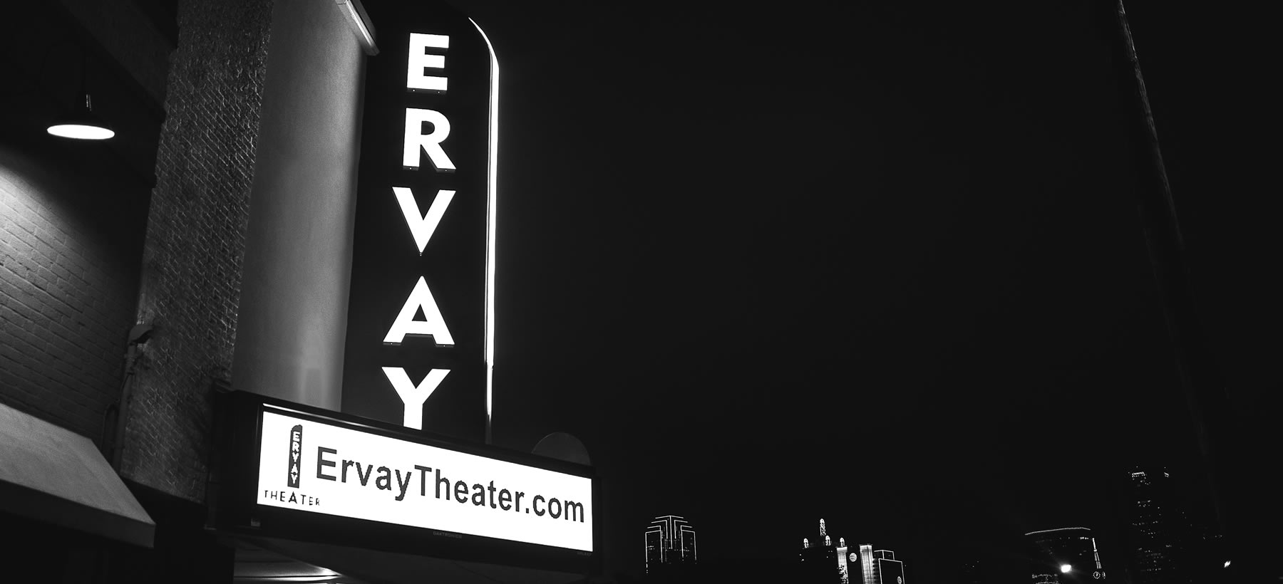 Ervay Theater Marquee